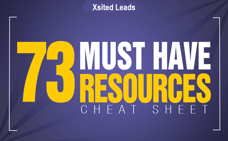 73 resources - Network Marketing Cheat Sheets