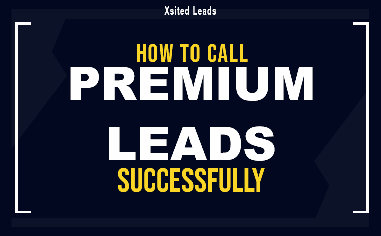 xl how to call premium leads successfully - Network Marketing Cheat Sheets
